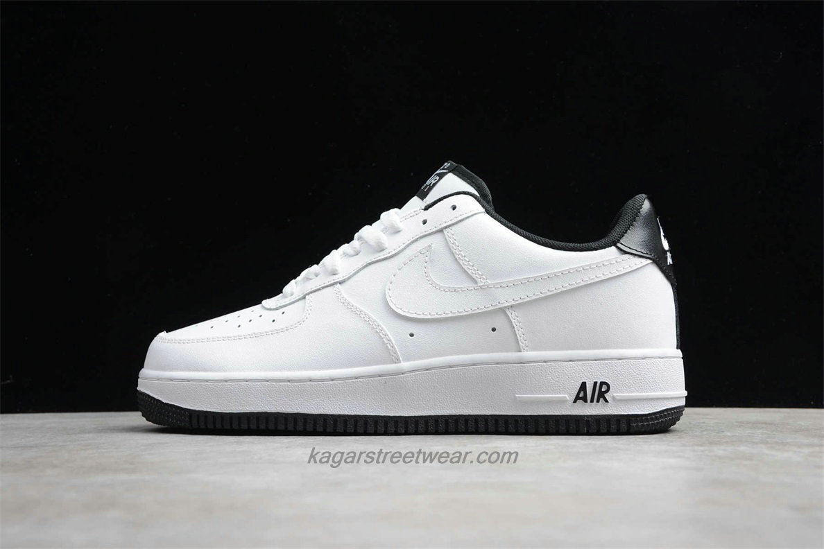Chaussures 2020 Nike Air Force 1 07 LV8 Low CD0884 100 Blanc / Noir