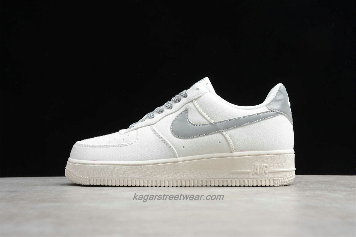 Chaussures 2020 Nike Air Force 1 07 Low 315122106 Blanc / Argent