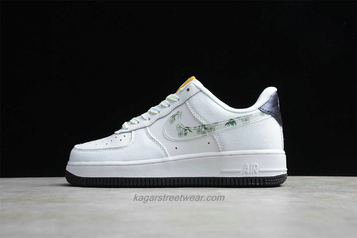 Chaussures 2020 Nike Air Force 1 07 Low CW5859 100 Blanc / Noir