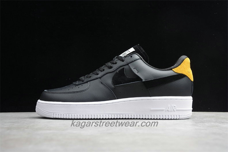 Chaussures Nike Air Force 1 07 Low LX 898889014 Noir / Jaune