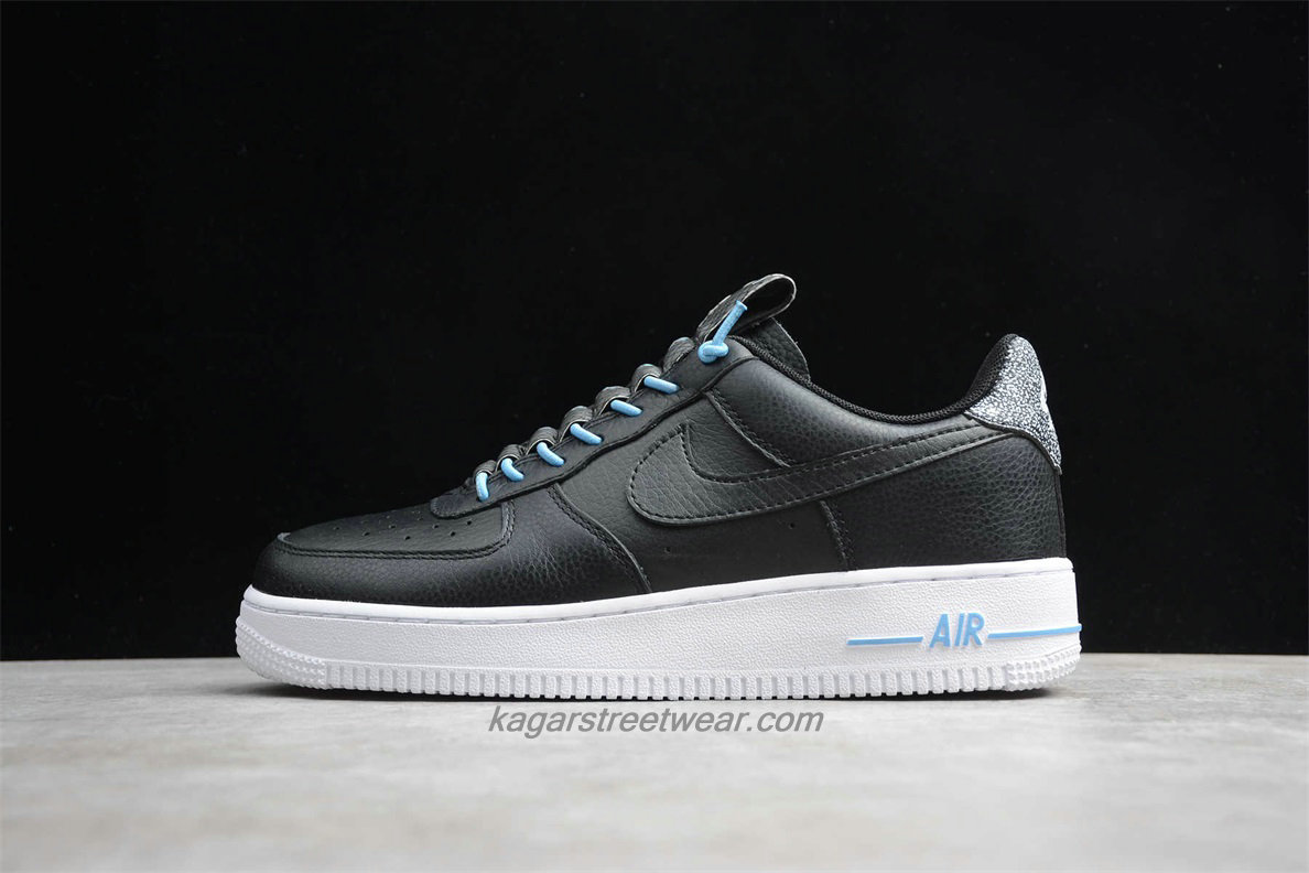 Chaussures Nike Air Force 1 Low 07 LX 898889015 Noir / Blanc