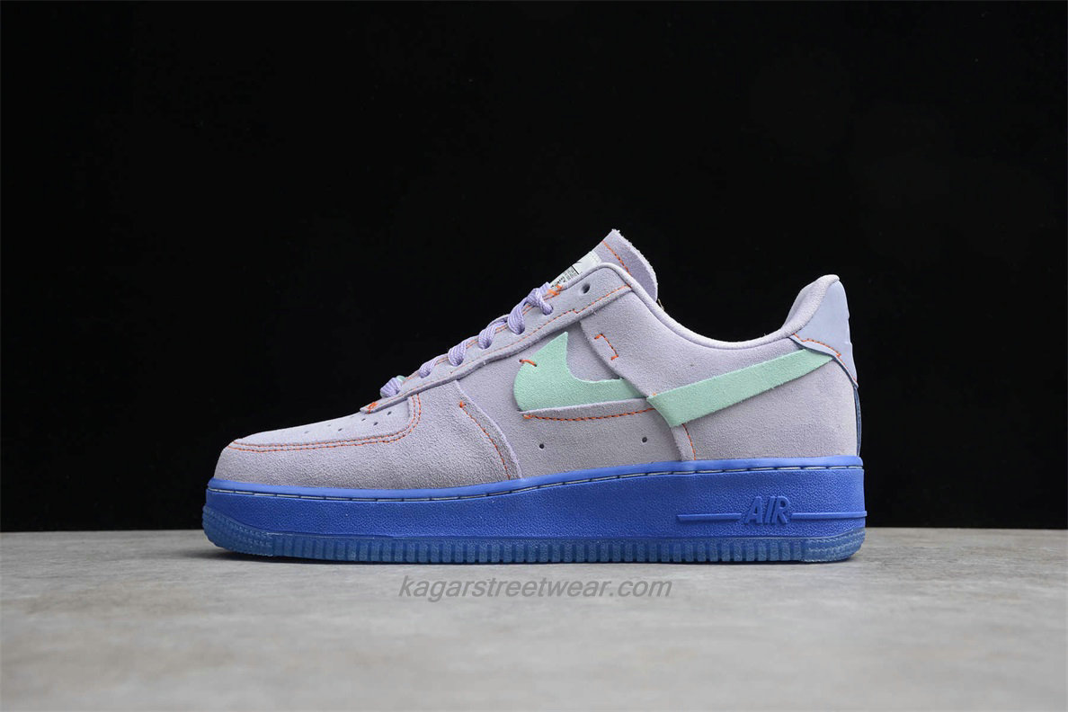 Chaussures Nike Air Force 1 Low 07 LX CT7358 500 Violet / Verte / Bleu
