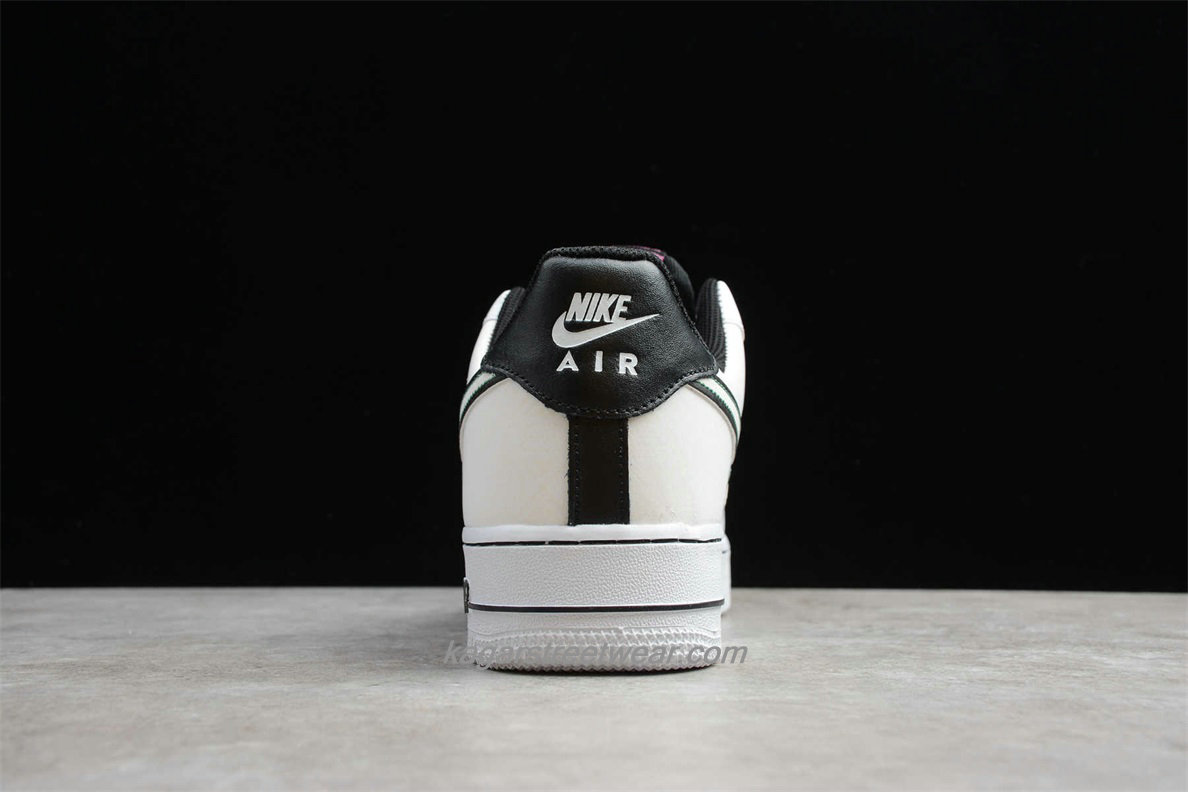 Chaussures Nike Air Force 1 Low 07 PRM CT1138 100 Blanc / Noir
