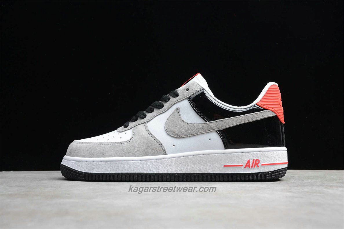 Chaussures Nike Air Force 1 Low 07 PRM QS 318775101 Sable / Blanc / Noir / Rouge