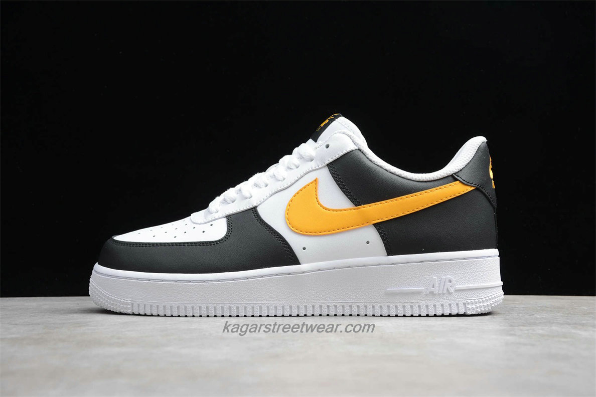 Chaussures Nike Air Force 1 Low 07 RS CK0806 001 Blanc / Noir / Jaune