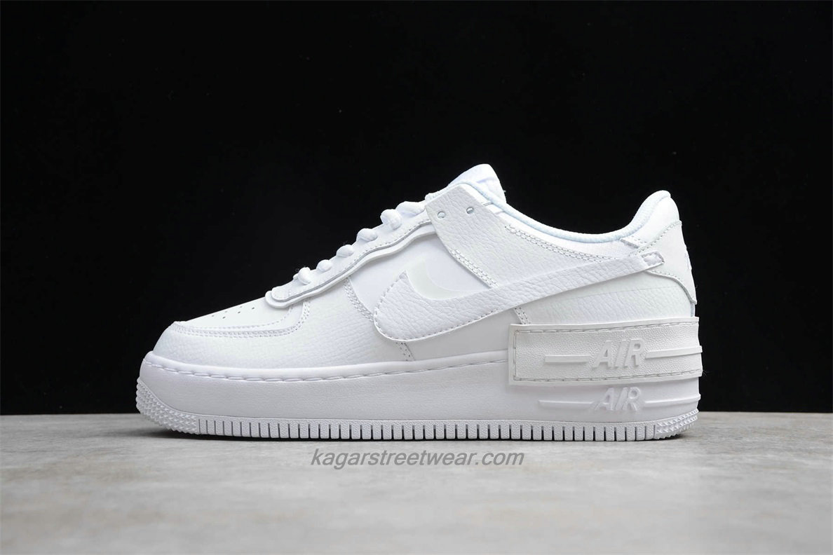 Chaussures Nike Air Force 1 Shadow CI0917 100 Blanc